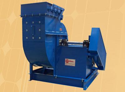ventilador centrifugo aspas rectas atrazadas
