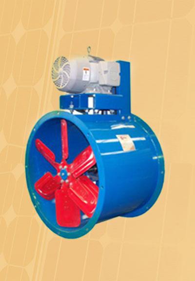 ventilador industrial axial para montaje en ducto o portatil modelos axd axv axp